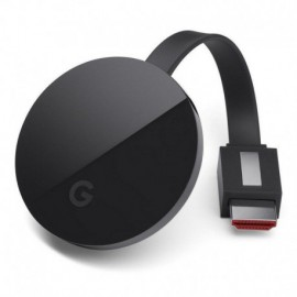 GOOGLE CHROMECAST ULTRA - HDMI - MICRO USB - RESOLUCIÓN 4K ULTRA HD - HDR - WIFI AC - ETHERNET - ANDROID/IOS/MAC/WINDOWS