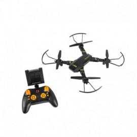 DRON UGO SIROCCO - 800MAH - CUADRICÓPTERO - ALCANCE 100M - CÁMARA HD - MICROSD - AUTONOMÍA 15 MIN - NEGRO