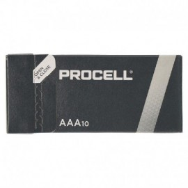 PACK 10 PILAS AAA (L03) DURACELL PROCELL ID2400IPX10 - ALCALINA (ZN/MNO2) - 1.5V - 1,255MAH