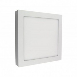 DOWNLIGHT EXTRAFINO SUPERFICIE CUADRADO IGLUX SUP-102418-NB - 18W - 4000ºK - BLANCO - 2200 LUMENES - 220X220X35 MM