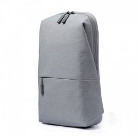 MOCHILA XIAOMI MI CITY SLING BAG LIGHT GREY - CAPACIDAD 4 LITROS - HASTA 10 KG - GRIS CLARO