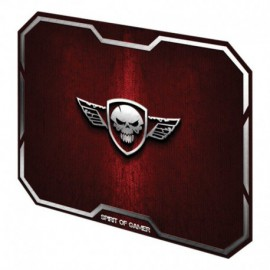 ALFOMBRILLA SPIRIT OF GAMER RED WINGED SKULL M - 29.6*23.6CM - TEXTURA ULTRAFINA - BASE ANTIDESLIZANTE