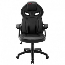 SILLA GAMER MARS GAMING MGC118BK NEGRA - REPOSACABEZAS ACOLCHADO - ALTURA REGULABLE - PISTON CLASE 4 - HASTA 130 KG