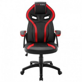 SILLA GAMER MARS GAMING MGC118BR ROJA - REPOSACABEZAS ACOLCHADO - ALTURA REGULABLE - PISTON CLASE 4 - HASTA 130 KG