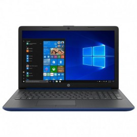PORTÁTIL HP 15-DA0200NS - W10 - I3-7020U 2.3GHZ - 8GB - 1TB - 15.6'/39.6CM HD - HDMI - BT - NO ODD - AZUL LUMIERE