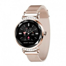 RELOJ INTELIGENTE INNJOO LADY CRYSTAL GOLD - REGISTRO DISTANCIA - RITMO CARDIACO - MONITORIZACIÓN SUEÑO - WATERPROOF