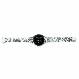RELOJ INTELIGENTE INNJOO VOOM MINI BLACK WHITE - PANTALLA COLOR 2.4CM - BT 4.0 - IP68 - BAT 120MAH