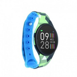 RELOJ INTELIGENTE INNJOO VOOM MINI GREEN BLACK - PANTALLA COLOR 2.4CM - BT 4.0 - IP68 - BAT 120MAH