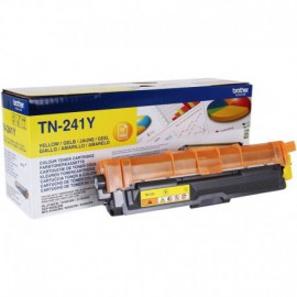 TONER AMARILLO BROTHER TN241Y - 1400 PÁGINAS - COMPATIBLE SEGÚN ESPECIFICACIONES