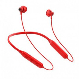 AURICULARES BLUETOOTH INNJOO EB009 RED - BT5.0 - DRIVERS 12MM - 32 OHMIOS - BATERÍA 140MAH