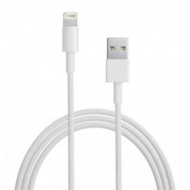 CABLE DURACELL USB5022W USB-LIGHTNING - PARA CARGA Y SINCRONIZACIÓN - 2 METROS - COLOR BLANCO