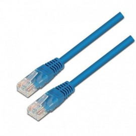 LATIGUILLO DE RED AISENS A133-0192 - RJ45 - UTP - CAT5E - 2M - AZUL