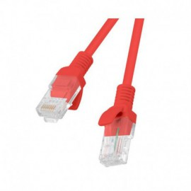 LATIGUILLO DE RED LANBERG PCU5-10CC-0150-G - ROJO - RJ45 - UTP - CAT 5E - 1.5M