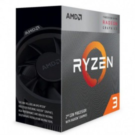 PROCESADOR AMD RYZEN 3 3200G - 3.6GHZ - SOCKET AM4 - GRÁFICA INTEGRADA RADEON VEGA 8