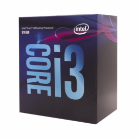 PROCESADOR INTEL CORE I3-8100 - 3.60GHZ - 4 NÚCLEOS - SOCKET LGA1151 8TH GEN - 6MB CACHE - UHD GRAPHICS 630
