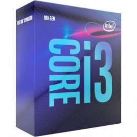 PROCESADOR INTEL CORE I3-9100 - 3.6GHZ - 4 NÚCLEOS - SOCKET LGA1151 9TH GEN - 6MB CACHÉ - HD GRAPHICS 630